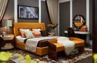 Schlafzimmer 7tlg. Set Luxus Möbel Bett Hocker Spiegel Nachttisch Bettgestelle günstig