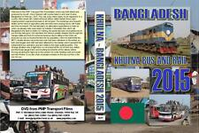 3029. Bangladesh, Khulna. Buses, Rail. Feb 2015. The third city  BRTC deckers wi