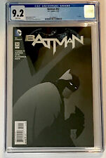 Batman COMIC #52 NM- 9.2 CGC GRADE WHITE PAGES  1st print Final Issue 7/2016
