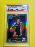 2018-19 Donruss Optic LONNIE WALKER Holo Silver Prizm Rated Rookie RC PSA 10 SP