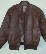 Mens Blair Scandia Woods Brown Leather Jacket Size S 35046ad22