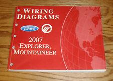 2007 Ford Explorer Mercury Mountaineer Wiring Diagrams Manual 07