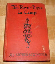 Rover Boys in Camp -  Rivals of Pine Island Vol 8 Winfield (Stratemeyer) 1904