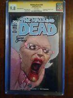 The Walking Dead 100 CGC 9.8 Frank Quitely Signature Series 1st Negan & Lucille