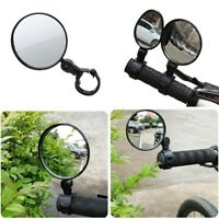 360° Safe Wide Rear View Rearview Mirror Cycling Bike Bicycle Handlebar 2 Styles