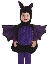 Bat Costume Belly Babies Plush Cute Animal Child Boys Girls -Size 4-6 -