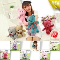 Hot Colorful Small PtrettyStuffed Animal Teddy Bear Plush Soft Toy Cute Gift New