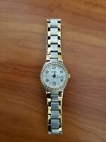 Fossil Colleague MOP Dial Two-tone Ladies Watch AM4183