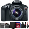 Canon EOS Rebel T6 18MP Digital SLR Camera with 18-55mm Lens and Accessory Kit