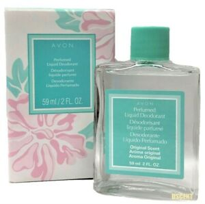 Avon Long Lasting Perfumed Liquid Deodorant Floral Scent For Women 2 fl oz
