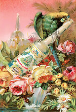 Vintage Perfume Advert Floral Murray Lenmam Florida Water 2   Poster Print