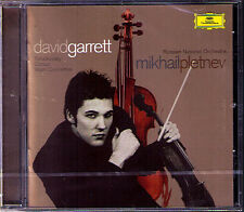 David GARRETT: TCHAIKOVSKY & CONUS Violin Concerto PLETNEV CD Violinkonzerte NEU