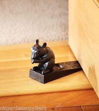 Cast Iron Mouse with Cheese Door Stop / Door Wedge / Door Stopper / Wedges