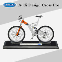 Audi Design Cross Pro Mountain Bike 1:10 Collectibles Diecast Bicycle Model Toy