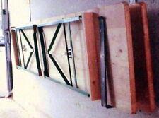 Wand Halterung für 2 Bierzelt Garnitur Tische Bänke Halter in Garage Carport NEU