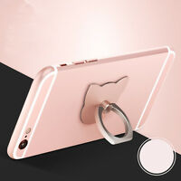 Cat Ring Stand Holder 360Degree Finger Mobile Phone Smartphone For iPhone FTYU