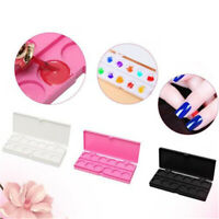 24 Grids Mixing Paint Draw Nail Art Watercolor Plastic Palette Tray Art Tools LE