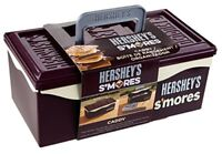 NEW Hershey's 01211HSY S'mores Caddy with Tray Brown FREE SHIPPING