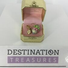 Juicy Couture 2008 Ltd Edition Easter Egg w Yorkie Charm Gold Box Tag Authentic