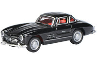 Schuco 28004 (26308) - 1/87 Mercedes-Benz 300Sl - Schwarz - Neu
