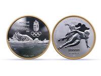 2020, Ungarn 10000 Forint  Ungarisches Olympisches Komitee PP, 1 oz Silber