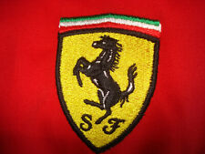 Ferrari Red Long Sleeve Mens 100% cotton XL embroidered Oxford Shirt excellent!