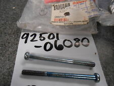 NOS Yamaha Pan Head Screws 1989 XV2401989 XV250 92501-06080 QTY2