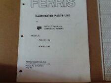 Ferris Illustrated Parts List Procut walkers Models PCW 48-12K PCW 61-14K