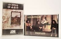 LOT OF 2 LED ZEPPELIN CASSETTE TAPES ~ SELF TITLED & PROFILED (C217030, CS19129)