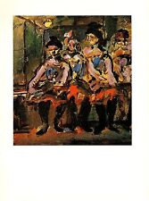 "1977 Vintage ROUAULT ""PROSTITUTES"" COLOR offset Lithograph"