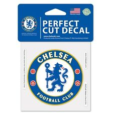 "Chelsea FC 4""x4"" Car Decal [NEW] Auto Emblem Sticker Premiership Soccer Football"
