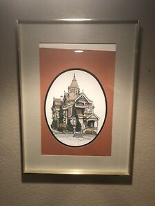 Debbie Patrick Haas-Lilienthal House San Francisco Grandmothers House Signed '79