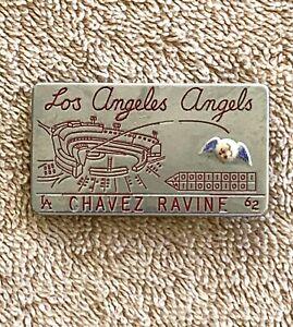 Rare 1962 Los Angeles Angels Chavez Ravine Souvenir Money Clip