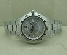 Tag Heuer Aquaracer Silver Quartz Swiss Date Watch