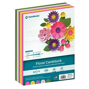 PrintWorks Assorted Cardstock for Paper Crafting