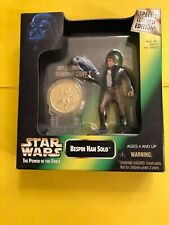 COLLECTION 1997 HAN SOLO WITH COIN FREE SHIPPING