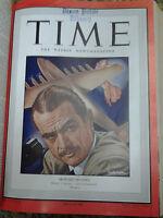 Bound Time Magazines Mar 1946- Dec 1948 Rare Vintage Magazine!    $