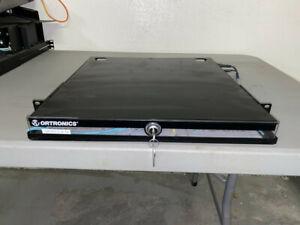 1U ORTRONICS Fiber Patch Panel FC01U-P w/ Bulkheads