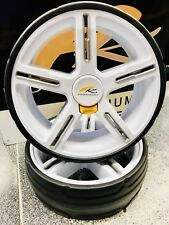 POWAKADDY WHEELS FITS ALL POWAKADDYS LARGER STABILITY & STYLE 24HR DELIVERY!!!!!