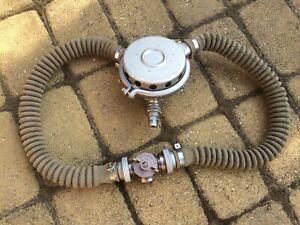 Vintage Russian 2-hose double hose two hose regulator SCUBA DIVING HELMET