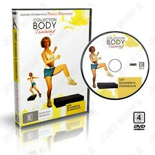 Step Aerobics Exercise DVD : Beginners & Intermediate Workout : Brand New