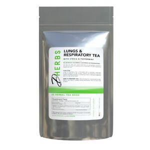 Dherbs Lungs & Respiratory Tea, 40 Grams