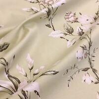 Ashley Wilde Applebury Sage 100% Cotton Floral Fabric, Price per 1/2 metre