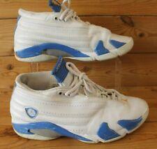 JORDAN 14 RETRO LOW SHOES MEN'S  312567 141 2005 PACIFIC BLUE WHITE UK 9.5 Rare