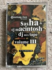 Mixmag Live Volume 3 III Sasha & CJ Macintosh DJ Mixtape DMC MML3