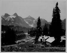 1928 Paradise Valley Rainier National Park Buildings Press Photo
