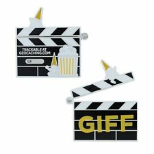 GIFF 2021 Geocoin and Tag Set Official Geocaching Trackable