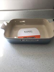 LE CREUSET Coastal blue Rectangular Baking Dish 32cm x 24cm x 5.5cm