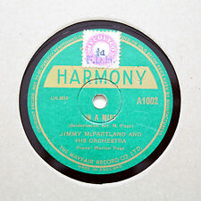 "JIMMY McPARTLAND AND HIS ORCHESTRA ""In A Mist"" HARMONY A-1002 [78 RPM]"
