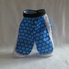New! Barbie Bmr1959 Made To Move Ken Doll Blue Boxer Shorts Swim Trunks Clothing